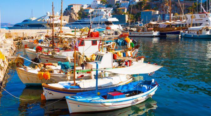 Santorini romantic european islands