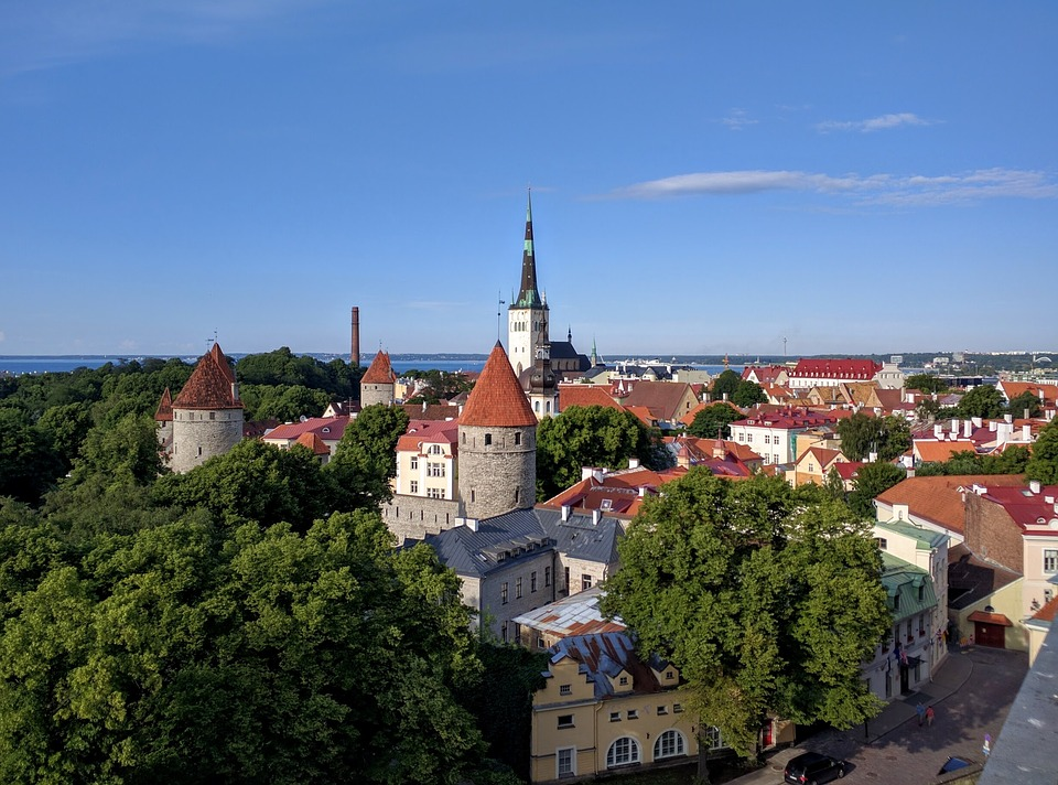 The beautiful red-roofed houses make Talliin one of the most beautiful yet affordable Eastern European escapes.
