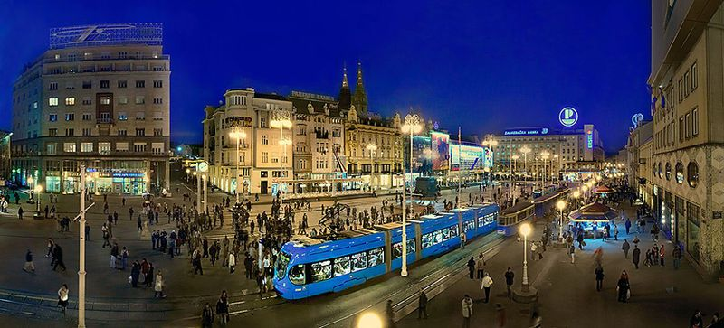 The vibrant atmosphere of the city adds to the charm of Zagreb