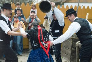 Celebrating Easter in Eastern Europe can be a wet business if you're in Poland on Wet Monday.