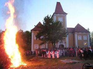 Another amazing way to spend Easter in Eastern Europe is spending all night by a bonfire in Croatia.
