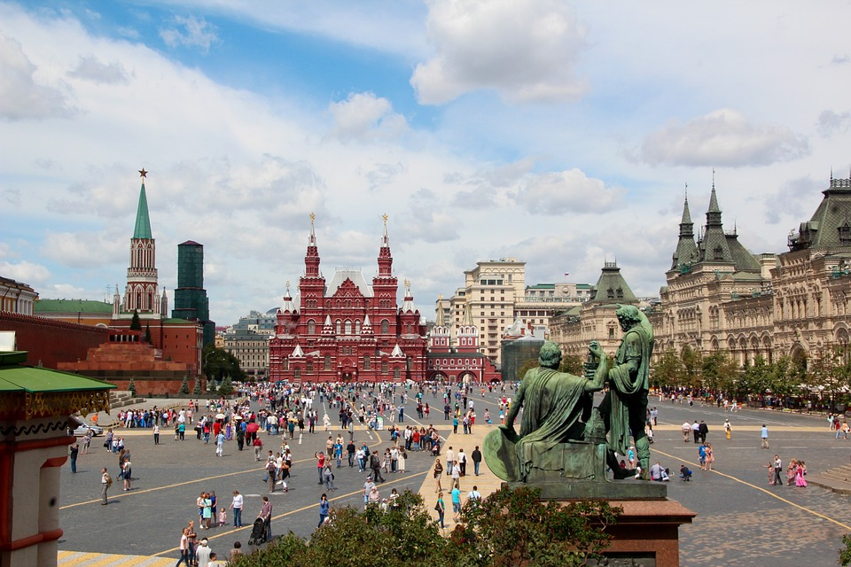 Russia is one of the top choices for a mystery trip with your partner.