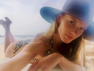 The model with a killer body has graced Sports Illustrated for a whole decade.